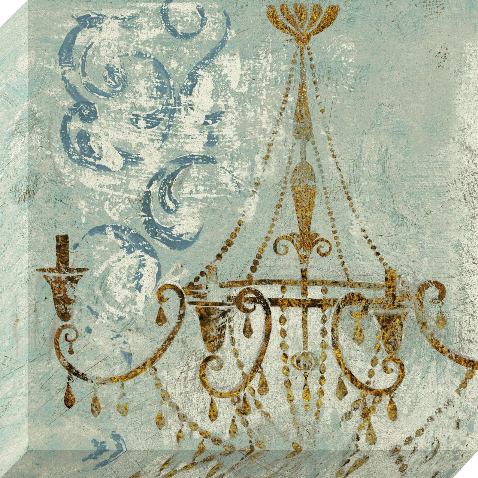 NielsenBainbridge Pinnacle Chandelier Graphic Art on Canvas