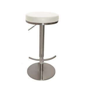 Caudell Adjustable Height Bar Stool by Orren Ellis