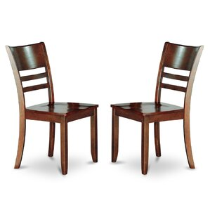 Lockmoor Side Chair with Wood Seat (Set of 2) by Red Barrel Studio