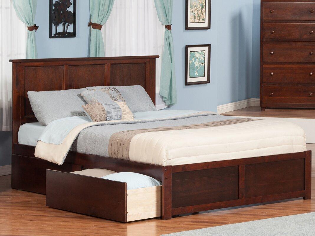 Andover Mills Marjorie King Storage Platform Bed Reviews Wayfair