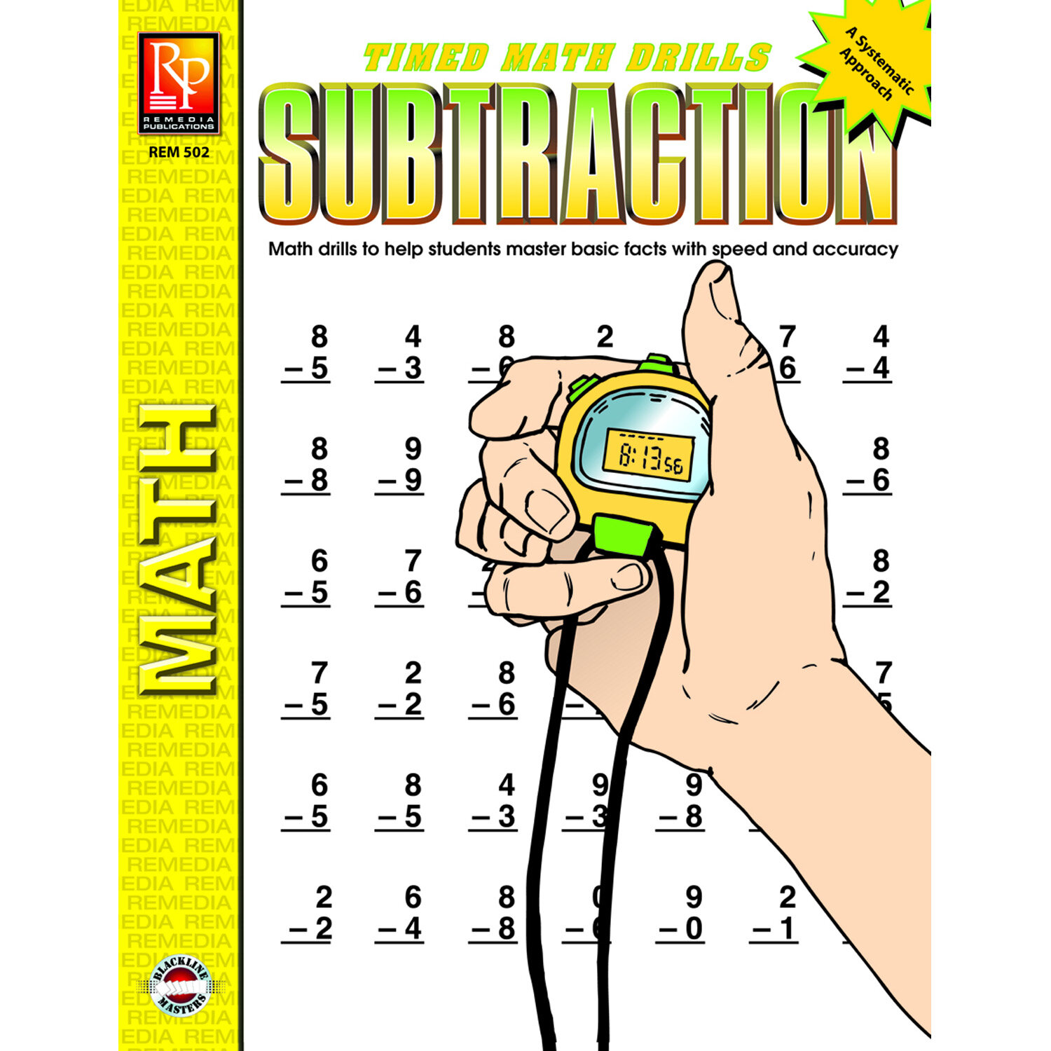 Remedia Publications Timed Math Facts Subtraction Book | Wayfair