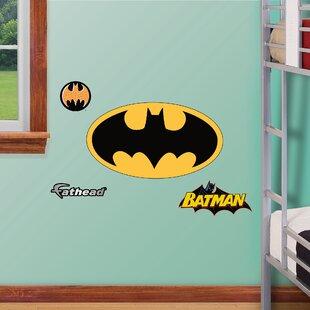 Junior Batman Logo Wall Decal