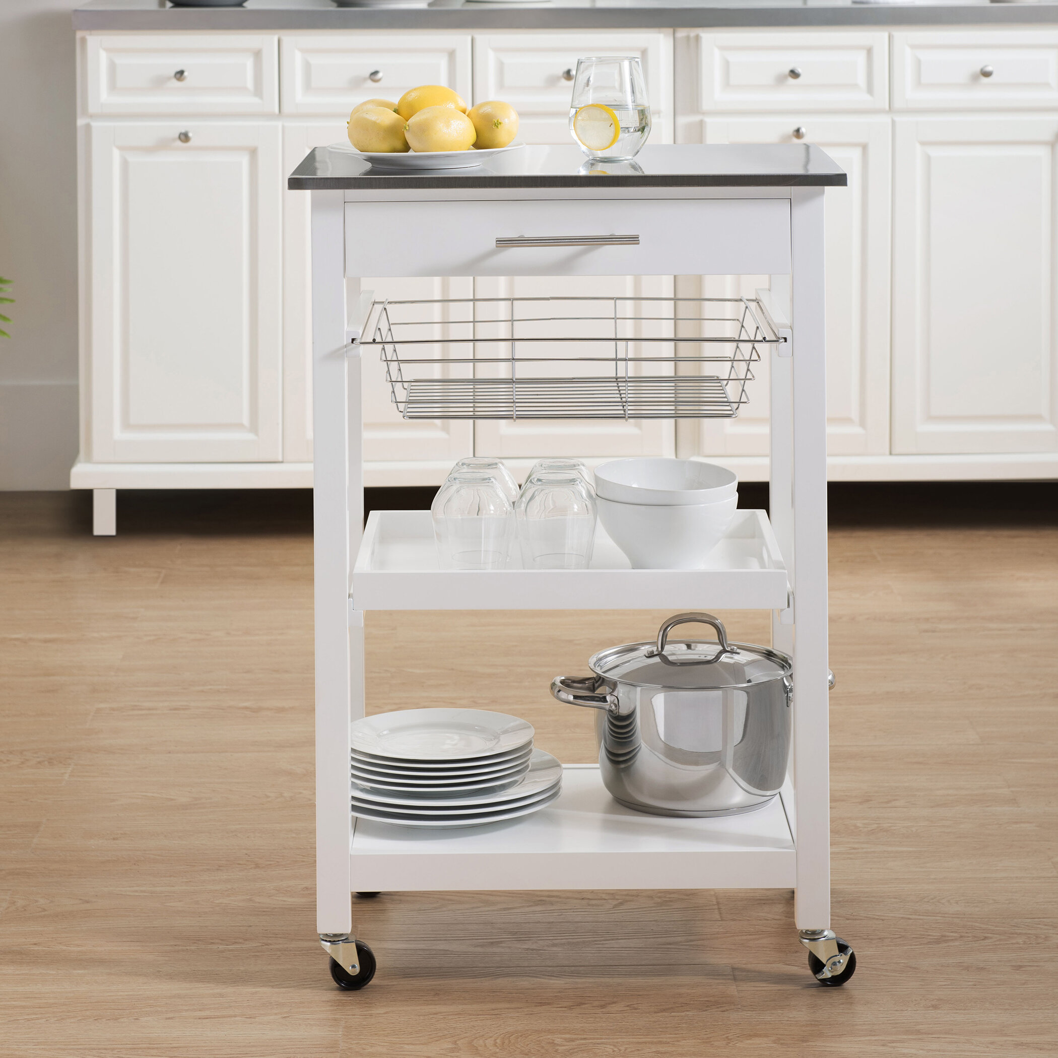 Highland dunes edolie kitchen cart reviews wayfair