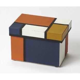 Mosaic Leather Storage Box