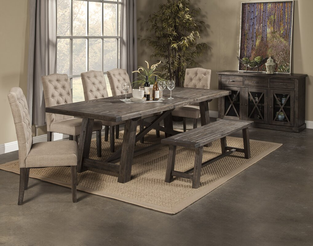 Colborne Extendable Dining Table & Reviews | Birch Lane