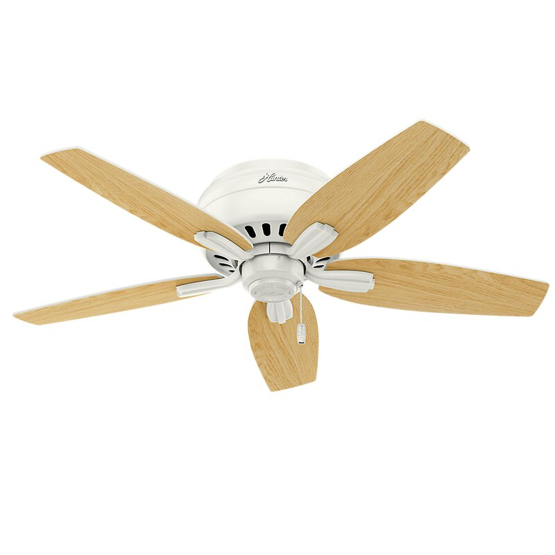 42 Newsome Low Profile 5 Blade Ceiling Fan Light Kit Included