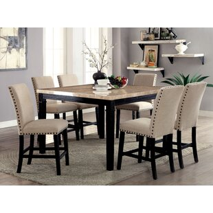 Reagle Counter Height 7 Piece Dining Set