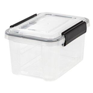 Save  sc 1 st  Wayfair & Plastic Storage Bins u0026 Totes Youu0027ll Love | Wayfair