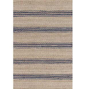 Hand Woven Beige Blue Area Rug By Dash And Albert Rugs