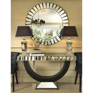Superbe Wynyard Console Table And Mirror Set