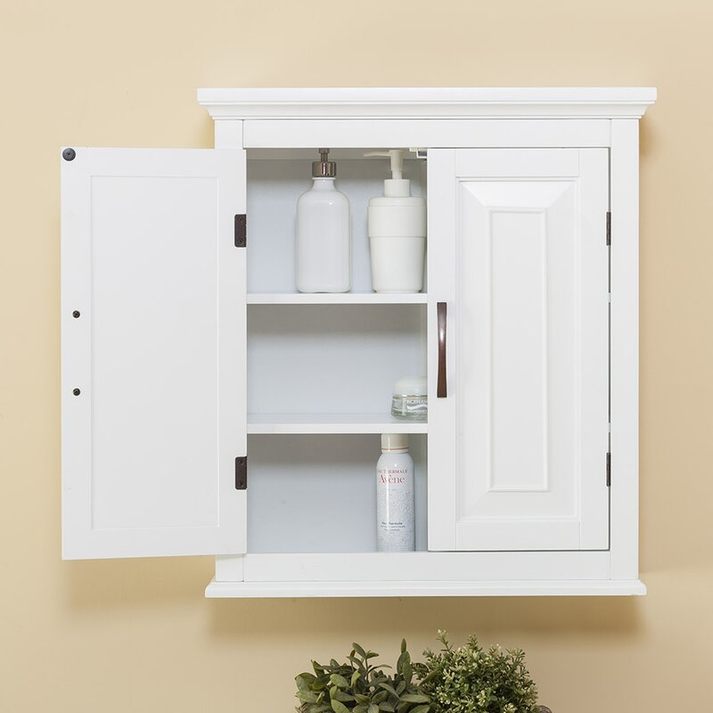 bathroom in wall cabinets alcott hill prater 22 5 quot w x 25 quot h wall mounted cabinet 11518