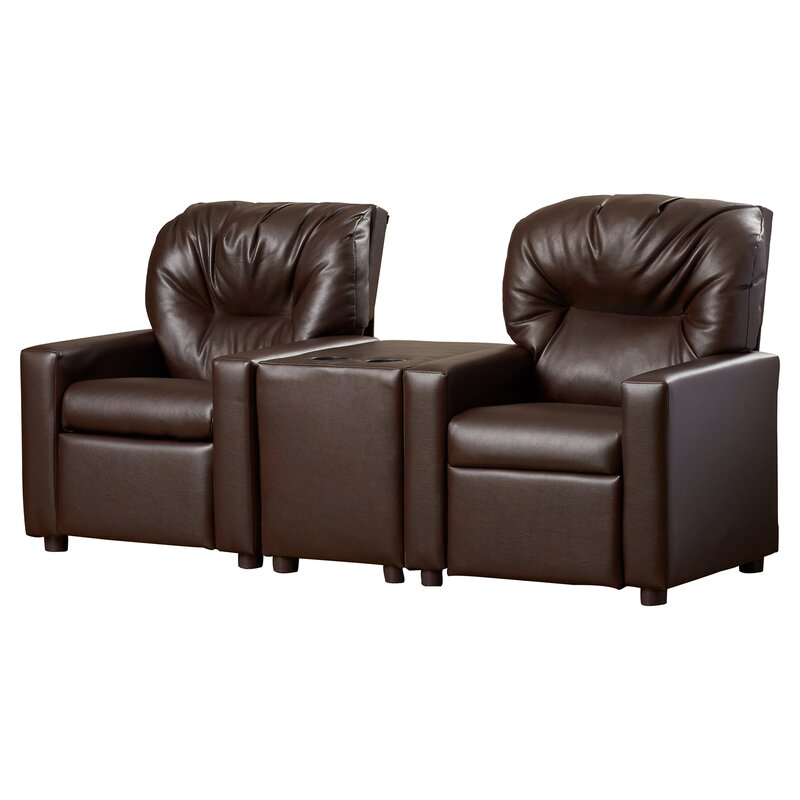 Theater Kids Recliner with Cup Holder  sc 1 st  Wayfair & Dozy Dotes Theater Kids Recliner with Cup Holder u0026 Reviews | Wayfair islam-shia.org