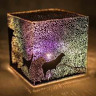 Christmas lamp wayfair christmas eve 8 table lamp aloadofball Images