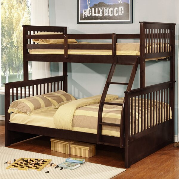 Viv Rae Liberty Twin Extra Long Over Full Bunk Panel Bed Reviews