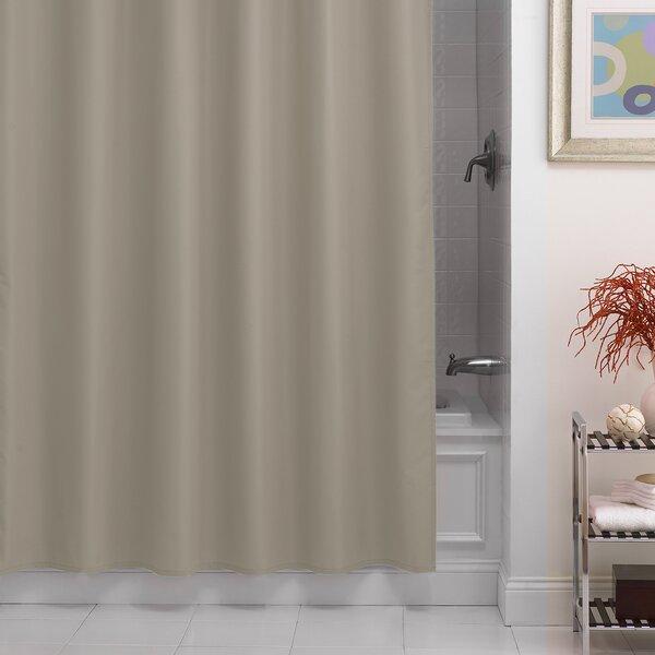 Beachcrest Home Santalaris Fabric Shower Curtain Liner Reviews
