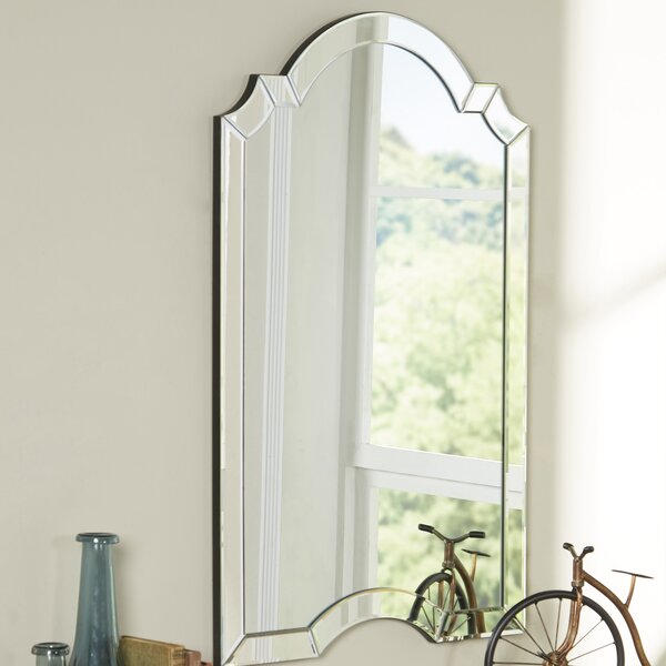 Ekaterina Arch Crowned Top Wall Mirror Amp Reviews Birch Lane