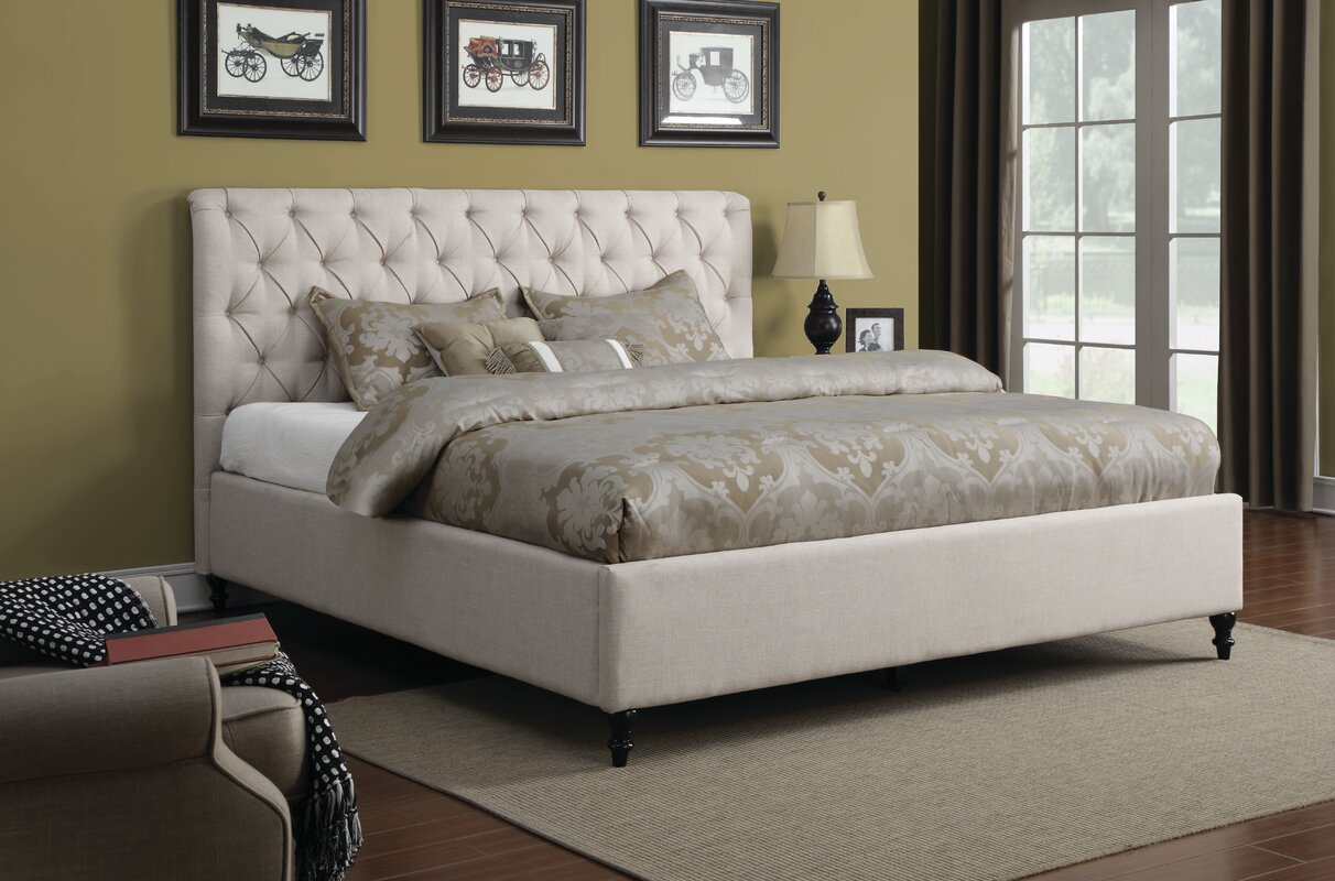 Darby Home Co Upholstered Platform Bed & Reviews