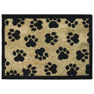 Ideal Paw Print Rug | Wayfair NI82