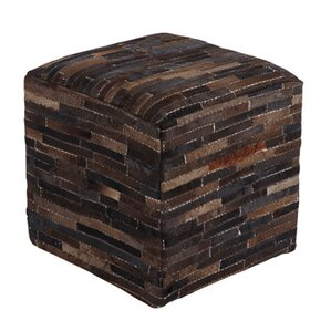 Cowhide Pouf Ottoman by Signature Design by ..
