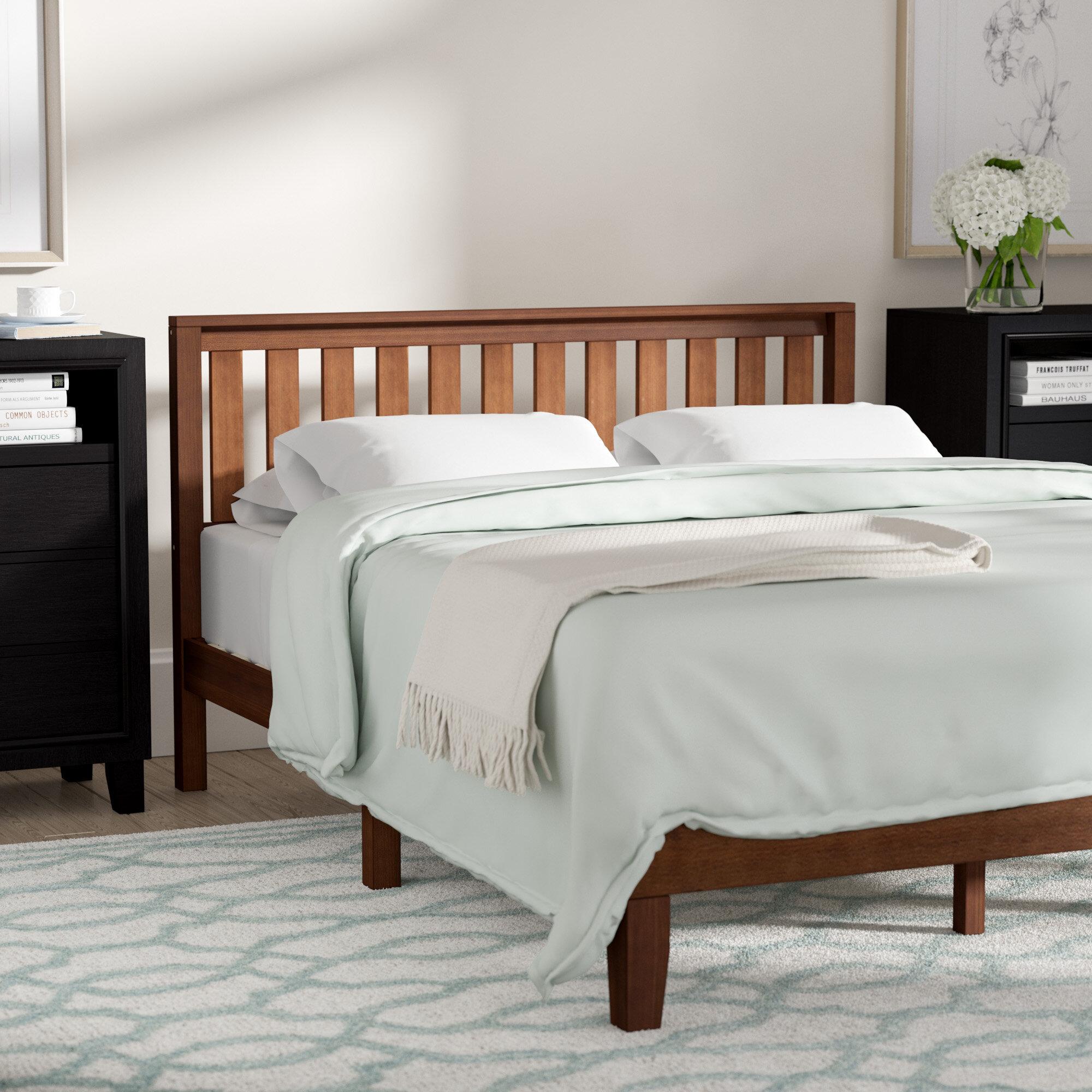 Winston Porter Dalila Solid Wood Platform Bed Reviews Wayfair