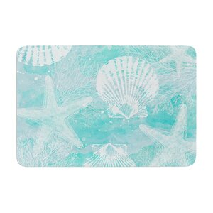 Sylvia Cook Seaside Memory Foam Bath Rug