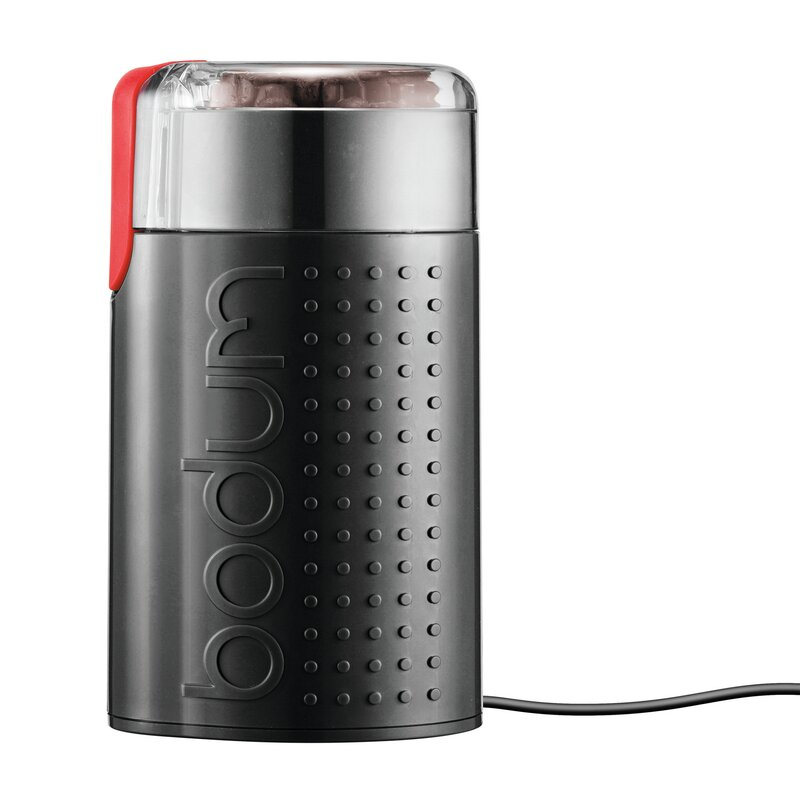 Black Bodum Bistro Electric Blade Coffee Grinder (Part Number: 11160 565 Us) by Bodum