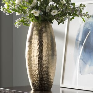 Floor Vases Youll Love Wayfair - Cylinder floor vase silver