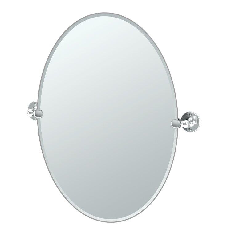 Attractive Café Oval Mirror