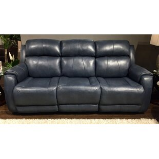 Blue Leather Sofas You Ll Love In 2019 Wayfair