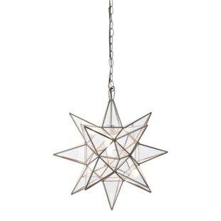 Star 1 Light Geometric Pendant