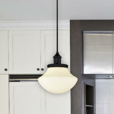 Westinghouse lighting 1 light schoolhouse pendant reviews wayfair 1 light schoolhouse pendant mozeypictures Images