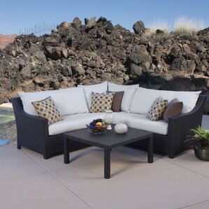Amazing Northridge 4 Piece Sectional Seating Group With Cushions