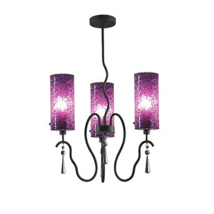 Purple shade chandeliers youll love wayfair save to idea board mozeypictures Gallery