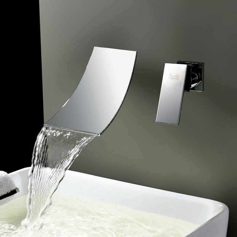 Kokols Single Handle Wall Mount Tub Faucet & Reviews | Wayfair