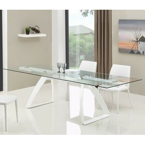 Calmar Extendable Dining Table by Wade Lo..