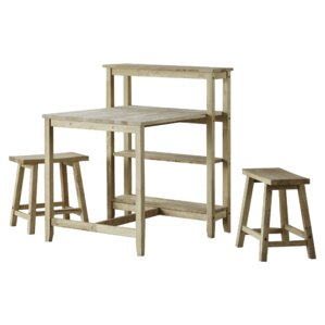 Wilma 3 Piece Pack Dining Set by Union Rustic