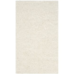 Inexpensive Kourtney White Area Rug By Zipcode Design