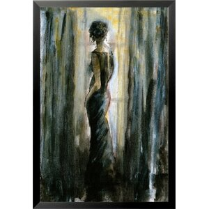 'Figure' by Cliff Warner Framed Painting Print