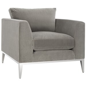 Abingdon Velvet Club Chair by Wade Logan