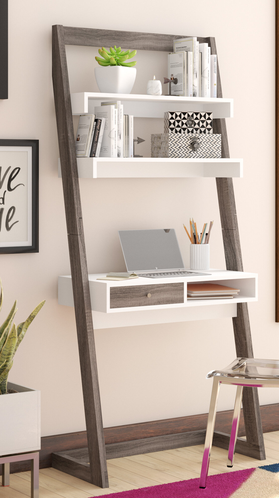 Mercury Row Darosa Ladder Desk U0026 Reviews | Wayfair