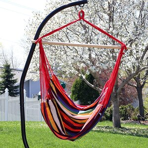 Jumbo Extra Large Chair Hammock With Stand