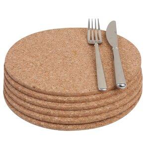 Cork Round Placemat (Set of 6)