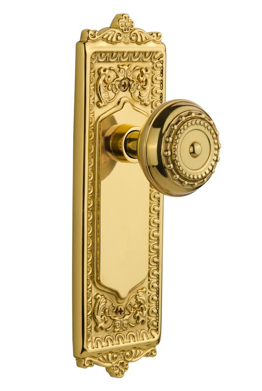Nostalgic Warehouse Meadows Single Dummy Door Knob with Egg and Dart ...