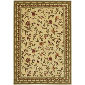 Albertine Yellow Area Rug