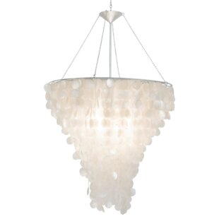 Oyster shell chandelier wayfair shell 2 light novelty chandelier aloadofball Image collections