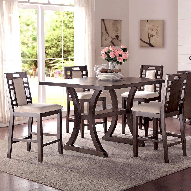 Infini Furnishings Alison  Piece Counter Height Dining Set - Counter height dining room tables