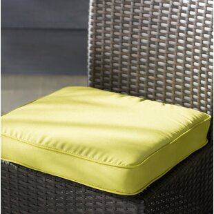 Pear Green Indoor/Outdoor Square Chair Cushion