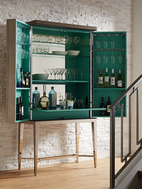 Lexington Ariana Cheval 2 Door Bar Cabinet Amp Reviews