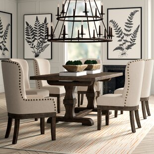 7 piece dining set with bench counter height quinn piece dining set kitchen room sets youll love wayfair