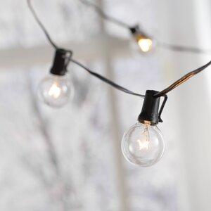 Brecksville 25 Light Globe String Lights